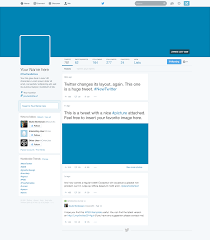 twitter 2014 gui new profile design psd download download psd