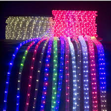 led rope light for temple decor park decoration wall deco building