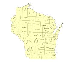 County Map Wisconsin by New Epsg Codes Published For Wisconsin Borders U0026 Frontiers