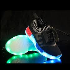 light up shoes for sale kids flash usb charging light up led shoes black red blue sale