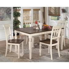 signature design by ashley whitesburg rectangular dining table
