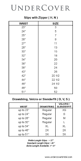 size chart for wedding dresses sizing chart undercover bridal