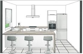 exemple plan de cuisine plan de cuisine en u plan cuisine en l avec ilot idee peinture