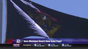Michigans Flag Twitter Contest Offers 500 Prize For Redesign Of Michigan Flag