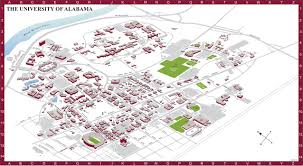 Map Of Mobile Alabama Campus Maps