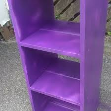 Purple Bookcase Shelves And Bookcases Collectors Weekly