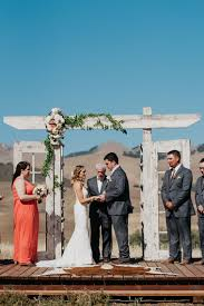 beautiful wedding at spreafico farms in san luis obispo