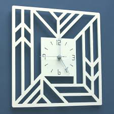 Clock Designs by Art Deco Metal Clock Make Your Own Clock Designs From Metal With