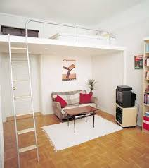 loft living ideas living room compact loft living very small apartment room ideas