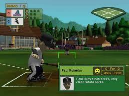 Backyard Baseball Xbox 360 Backyard Baseball 2007 Sony Playstation 2 Game