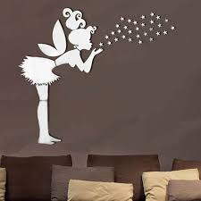 removable mirror decal art mural wall stickers home decor diy room