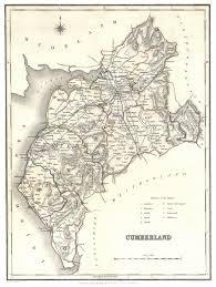 cumberland lake map cumberland genealogy heraldry and family history