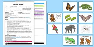 story activity to support teaching on monkey puzzle eyfs