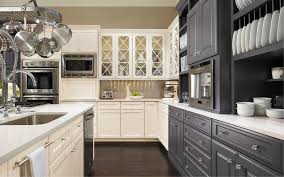 different color kitchen cabinets endearing different color kitchen cabinets chic idea two paint