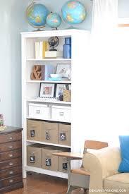 Toybox With Bookshelf Styling A Bookshelf Balancing Home With Megan Bray