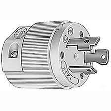amazon com hubbell hbl26cm11 30 amp 125 volt twist lock plug