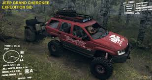 expedition jeep grand jeep grand expedition spintires mod mod for spin tires