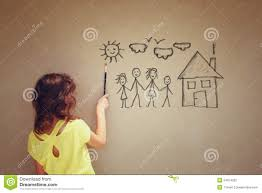 photo of cute kid imagine a happy family set of infographics over