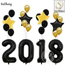 new year party supplies 40 inch gold 2018 for school graduation party decoration jumbo