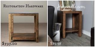 Restoration Hardware Side Table Get The Look For Less Restoration Hardware Living Room Dwell