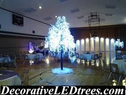 led tree rentals decorative led trees