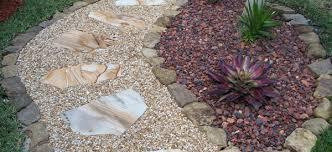 Backyard Pebble Gravel Custom Landscaping Backyard Landscaping With Pea Gravel