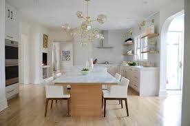 Kitchen Island With Table Seating Kitchen Island With Upholstered Bench Seating Design Ideas