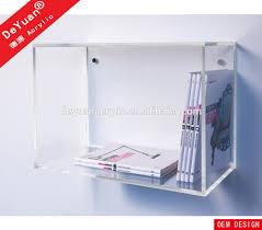 wall mounted acrylic book shelf wall mounted acrylic book shelf