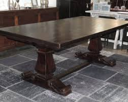 Large Dining Table Etsy - Dining room tables los angeles