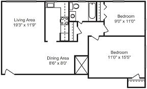 floor plans friendship court apartments washington dc 2 bedrooms 1 bath