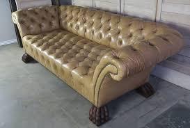 Chesterfield Tufted Leather Sofa Custom Chesterfield Tufted Leather Sofa By Levinson