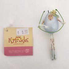 krinkles ornaments ebay