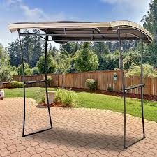 Gazebo With Awning Replacement Canopy For Grilling Gazebo Garden Winds