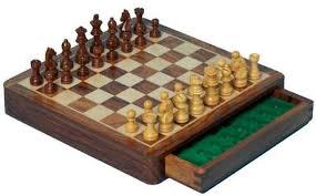 luxury chess set push draw magnetic chess set