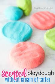 how to make playdough recipe without cream of tartar