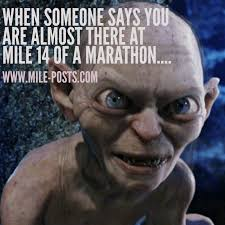 Running Memes - running memes quotes mile posts by dorothy beal