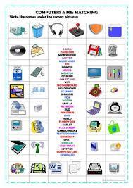 87 free esl computer worksheets