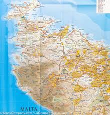 Map Western Europe by Map Of Malta U0026 Gozo Reise Know How U2013 Mapscompany