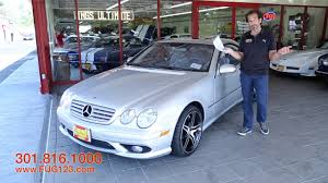 2003 mercedes amg for sale 2003 mercedes cl amg supercharged v8 55 for sale with test