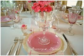 ikea pink plates tablescapes petal soft