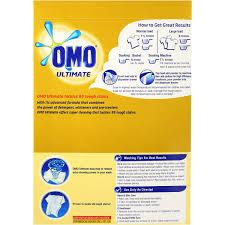 omo ultimate laundry detergent washing powder front u0026 top loader