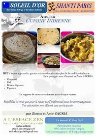 cours cuisine indienne shanti atelier de cuisine indienne