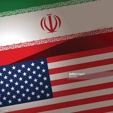 National Flag Iran Usa And Iran Flag Background Vector Art Getty Images