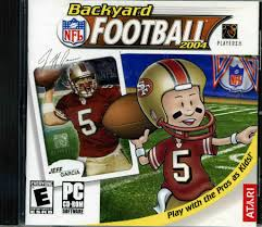 backyard football computer game outdoor goods