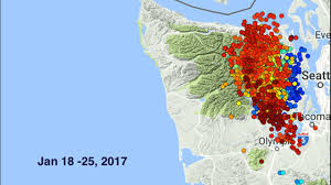 Earthquake Map Seattle by Strong U0027 Tremors Recorded For The Past Week Under Hood Canal Kiro Tv