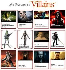 Metal Gear Solid Meme - my favorite villains meme by flame 316 on deviantart