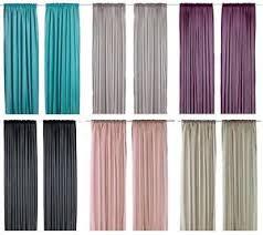 Ikea Gray Curtains Ikea Vivan Pair Of Curtains 2 Panels Purple Turquoise Black