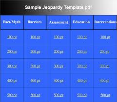 26 Jeopardy Printable Template 10 Jeopardy Game Templates Free Jepordy Template