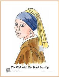 vermeer pearl earrings the girl with the pearl earring learn to watercolor project