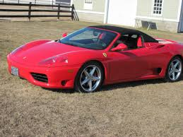 2001 360 spider for sale 2001 360 modena for sale